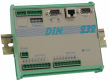 """Small control unit with 16-Bit-Processor, 8 inputs and 8 outputs plus RS232 interface and analog I/O"""