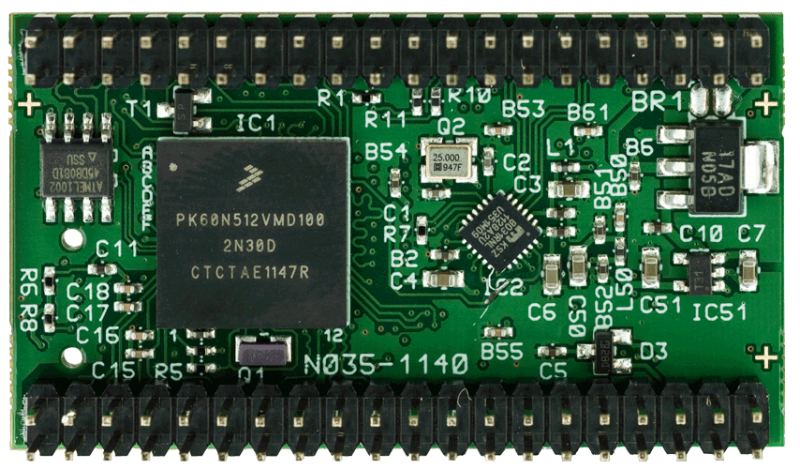 kBed Ethernet/USB Embedded Module: Kinetis K60 ARM Cortex M4 plus